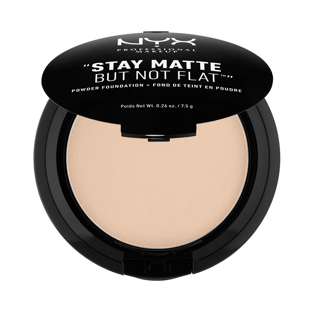 "NYX PROFESSIONAL MAKEUP ""Stay Matte But Not Flat"""