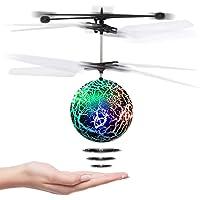 CYKT Juguete de Pelota voladora para niños, helicóptero