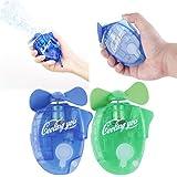 Wdnba® Portable Mini Water Cooling Spray Handheld Fan Gadget Sport Mist Spray popular Fan 2 Piece Set