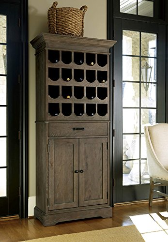 Universal Furniture Berkeley 3 Tall Wine Cabinet in Brownstone (Brownstone Cabinets)