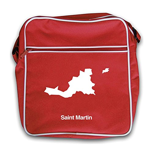 Flight Red Bag Silhouette Red Saint Silhouette Martin Bag Retro Martin Flight Saint Retro nqawSwzp7
