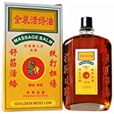 Golden Woo Lok Wood Lock Massage Balm Essential Oil For Pain Relief(50ml)