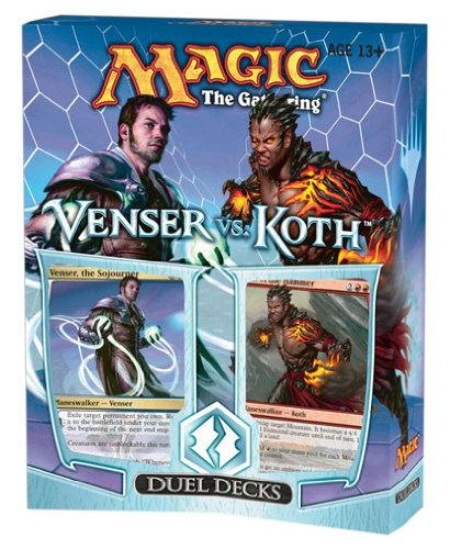 Magic the Gathering: MTG Duel Decks: VENSER VS KOTH (Two 60 Card Decks)