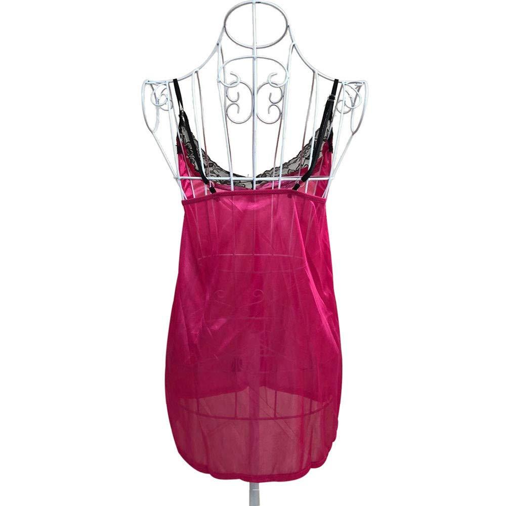 Lencería Sexy para Mujer, Cuerporopa Interior Mujer Conjuntos de lencería Cuero Body Sexy Bikini metálico Dancewear Ropa Interior de Cuero Clubwear T-Back ...
