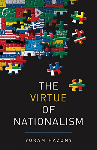 Book cover from The Virtue of Nationalism by Yoram Hazony