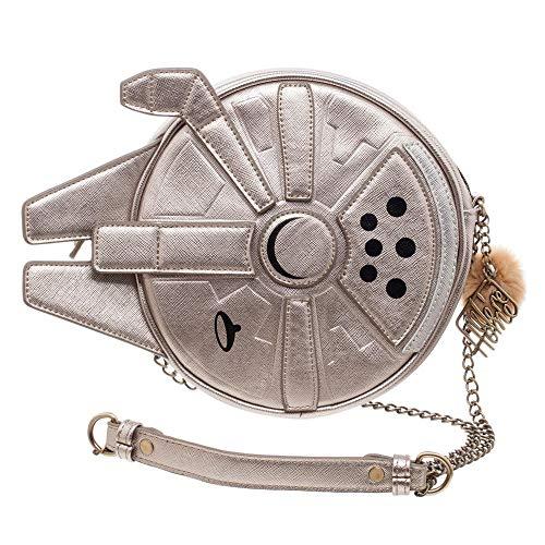 Star Wars Millenium Falcon Crossbody Handbag Purse from Bioworld