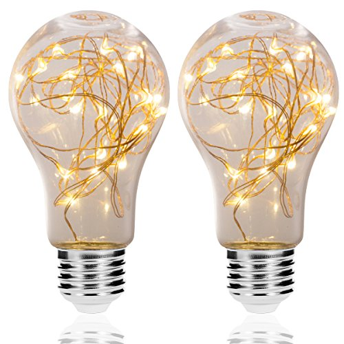 Clear Led Filament String Lights - 6