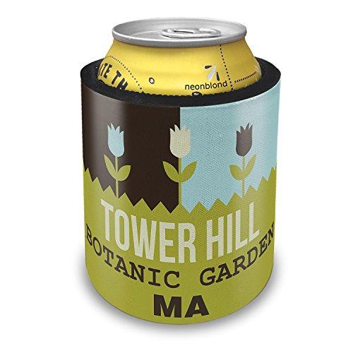 Botanic Garden Tower - NEONBLOND US Gardens Tower Hill Botanic Garden - MA Slap Can Cooler Insulator Sleeve