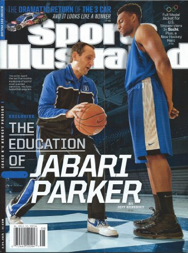 Used, Sports Illustrated 2/24/14 Education of Jabari Parker for sale  Delivered anywhere in USA