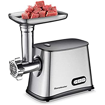 Amazon Com Homeleader Electric Meat Grinder Stainless