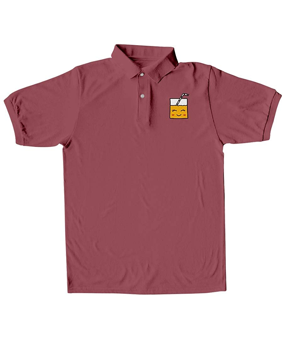 Barbara Sweet BS Smiley Juice Classic Polo Maroon L