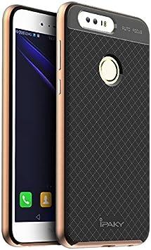 Huawei Honor 8 Funda, Ipaky Protección interna TPU Flexible [Ultra ...