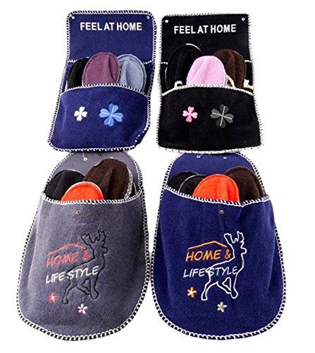 brandsseller - Zapatillas de estar por casa para mujer Azul - Blau/Rentier