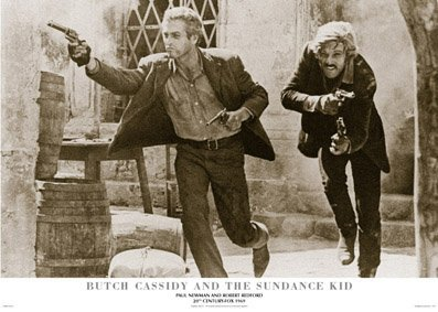 Butch Cassidy And The Sundance Kid Paul Newman Robert Redfor