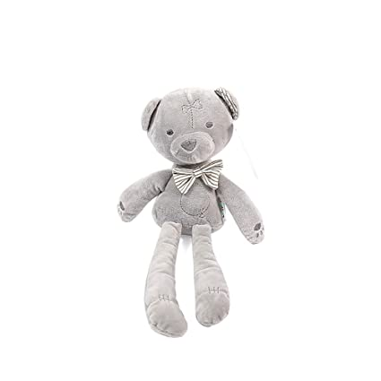 Bedtime Teddy Bear Doll Smooth Soft Stuffed Baby Infant Soothing Toy GIFT