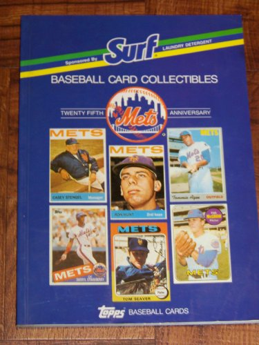 Surf Laundry Detergent Baseball Card Collectibles (Mets Twenty-fifth Anniversary)