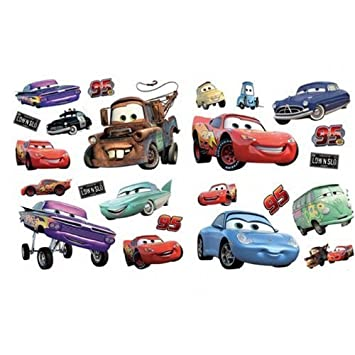 Decorative wall stickers cars disney cars room decor amazon com