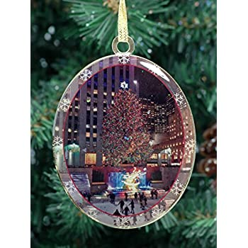 Amazon.com: New York City Christmas Ornament - Rockefeller ...