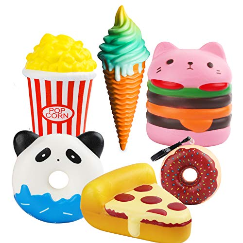 Advertising Collectibles Wholesale Slow Rising Soft Package Mobile Phone Strapes Kitchen Toys Super Jumbo White Ice Cream Cone Squishy Scented Rich And Magnificent