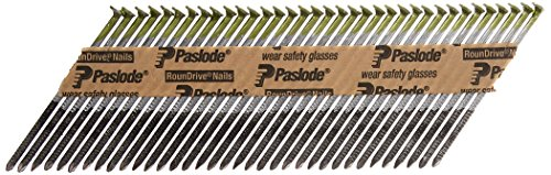 (Paslode - 650527 3-Inch by .120 Ring Hot Dipped Galvanized Nail and Fuel Pack for Cordless Framing Nailer (1,000 Nails + 1 Fuel Cell))
