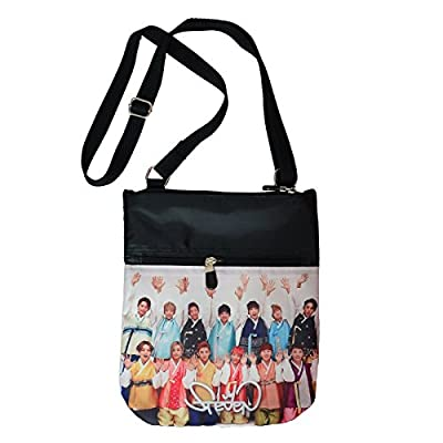 Seventeen kpop SVT Bag Cross Body Bag Swingpack Purse Bag 328