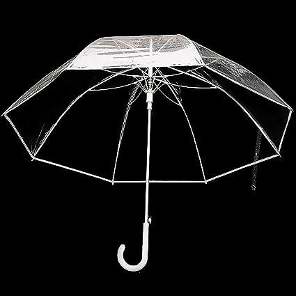UYT Parapluie transparent /à long manche