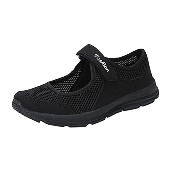 327d11601a62 LILICAT Womens Running Walking Shock Absorbing Sports Performance Shoes Gym  Mary Jane Trainers Summer Shoes for