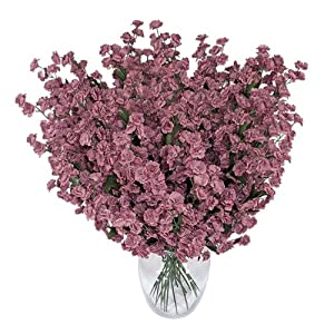 1920 Baby's Breath Gypsophila Artificial Silk Flowers _Mauve 97