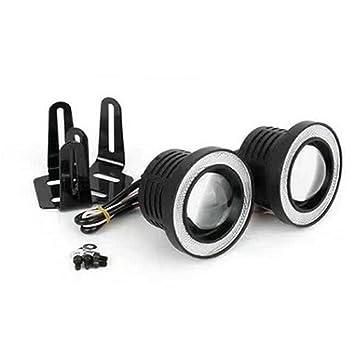 ZQEDY LED Nebelscheinwerfer Weiß Cob Halo Angel Eye Ringe Verwendet ...