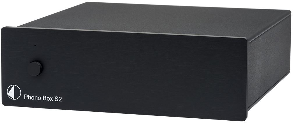 Pro-Ject Phono Box S2 Stadio Phono, Nero PHBOXS2BLK