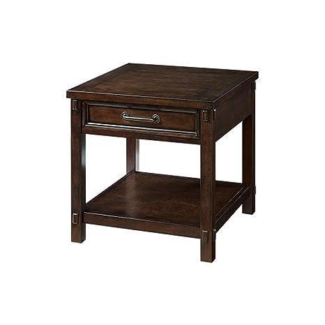 Amazon.com: GaoXinXingXJ JHVU - Mesita auxiliar de madera ...