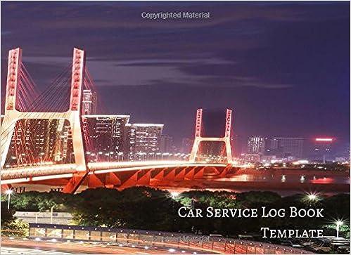 car service log book template vehicle maintenance log amazon co uk