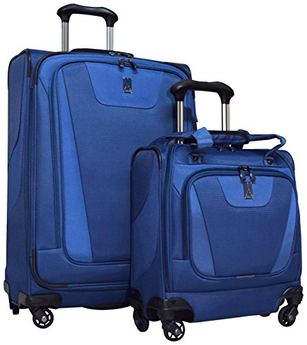 "Travelpro Maxlite 4 2-Piece Luggage Set: 25"" Expandable Spin"