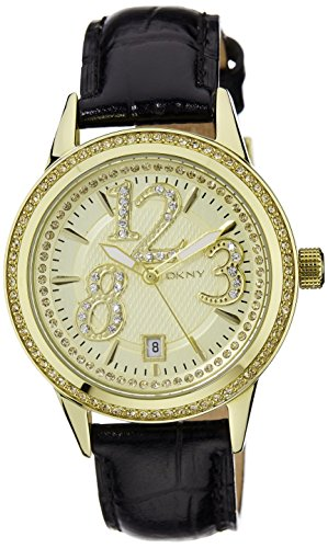 DKNY Women's Crystal Bezel watch #NY4372