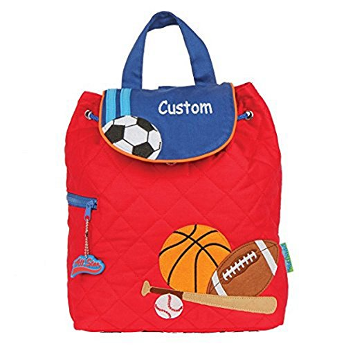 Price comparison product image Personalized Sports Embroidered Quilted Backpack