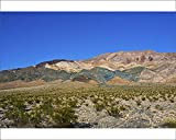 10x8 Print of Landscape Mountain Range, South Eureka Dunes Road Scenery (18241807)