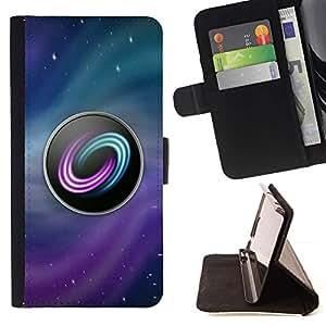 Momo Phone Case / Flip Funda de Cuero Case Cover - Logo Juego de PC Gamer Gaming Ubuntu Estrellas - Samsung Galaxy J3 GSM-J300