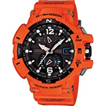 G-Shock GWA1100R Aviation Series Stylish Watch - Orange / One Size