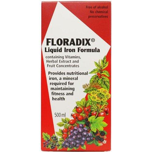 (3 PACK) - Floradix - Floradix Liquid Iron Formula | 500ml | 3 PACK BUNDLE