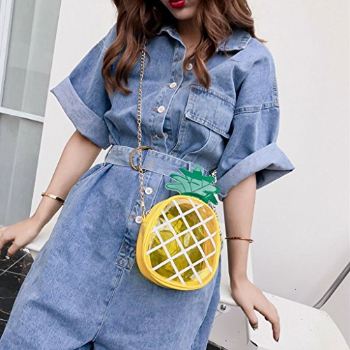 Tote Girls Women Cute Purse Messenger 2 Handbag Fruit Crossbody JAGENIE Bag 1 Shoulder Bags Aq01wcpnwx