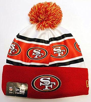 San Francisco 49ers Ka Nit Cuffed Pom Knit Beanie Hat / Cap