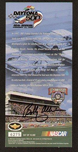 Bobby Allison signed autograph auto DAYTONA 500 Commemorative Ticket