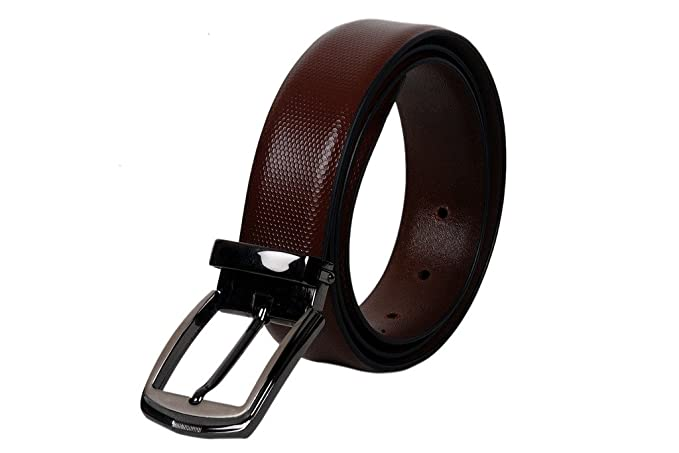 Genuine full Grain 35 mm wide men/'s Leather Belt formal use with aloy pin buckle