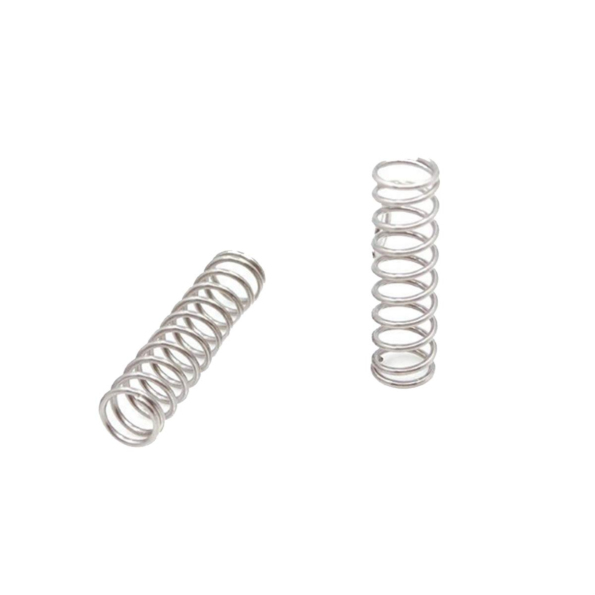 15pcs 304 Stainless Steel Compression Spring 0.8mmx12mmx50mm Spring Long Return Spring