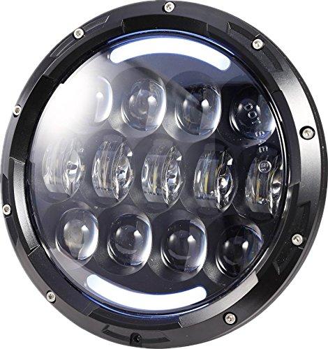 yellow 7 inch headlight - 5