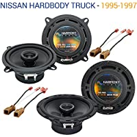 Nissan Hardbody Truck 1995-1997 OEM Speaker Upgrade Harmony Speakers Package New