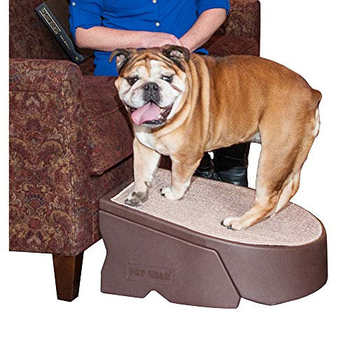 Pet Gear Stramp Stair and Ramp Combination, Dog/Cat Easy Step, Lightweight/Portable, Sturdy (Pet Stairs Dog Ramp)
