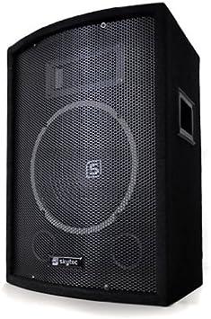 Skytec - Caja acústica pasiva de dos vías, con amplificador ...