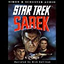 Sarek: Star Trek Pocket Books, Book 69 Audiobook by A. C. Crispin Narrated by Nick Sullivan