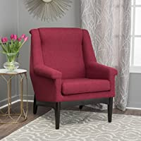 Christopher Knight Home 300195 Monet-Ckh Arm Chair, Deep Red